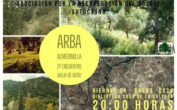 Comienza su andadura la Asociación para la Recuperación del Bosque Autóctono (ARBA) en Almedinilla