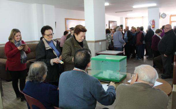 José Córdoba Castillo, ganador de las elecciones celebradas en el Hogar del Pensionista