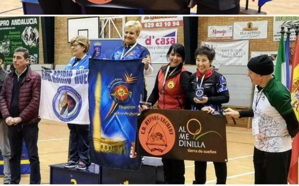 Trinidad García consigue el cuarto puesto del Campeonato de España 3D Indor 2020