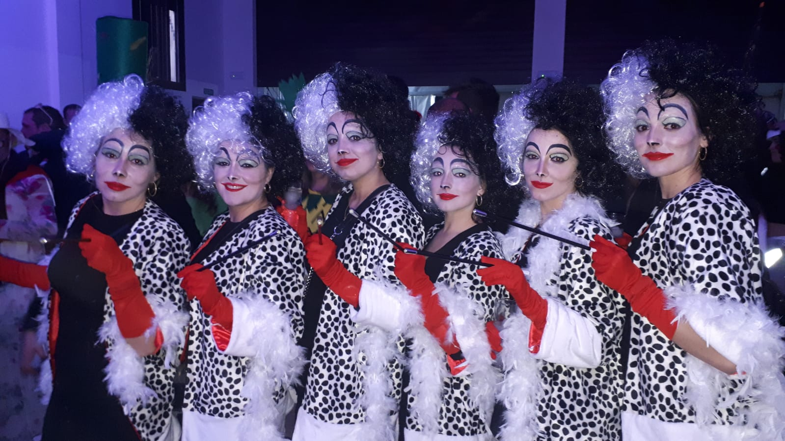 Ganas de fiesta y mucho color en el Carnaval de Brácana
