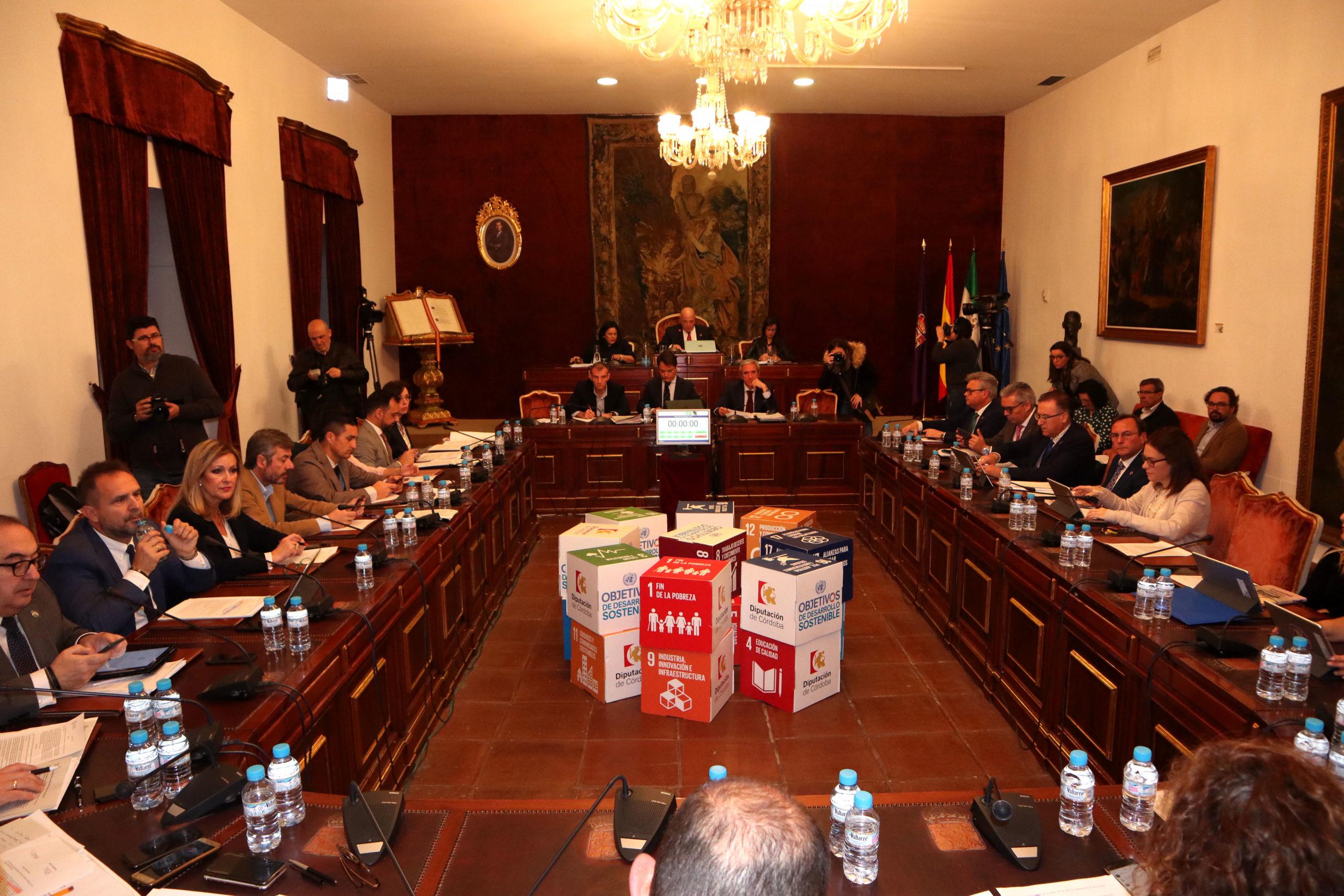 La Diputación aprueba el Programa de Inversiones de la Red Viaria 2020