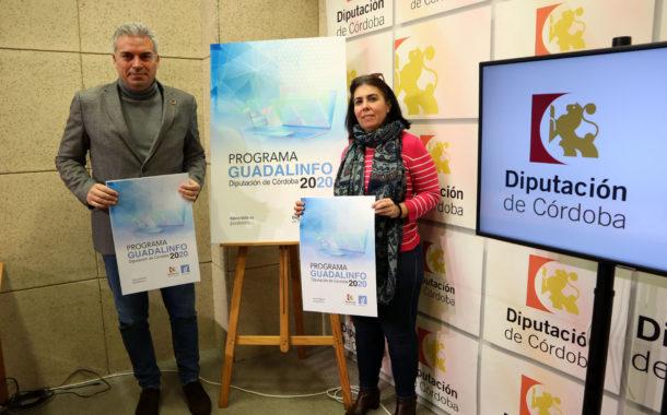 La Diputación abre una nueva convocatoria para la dinamización de los Centros Guadalinfo poniendo el énfasis en el objetivo de combatir la despoblación