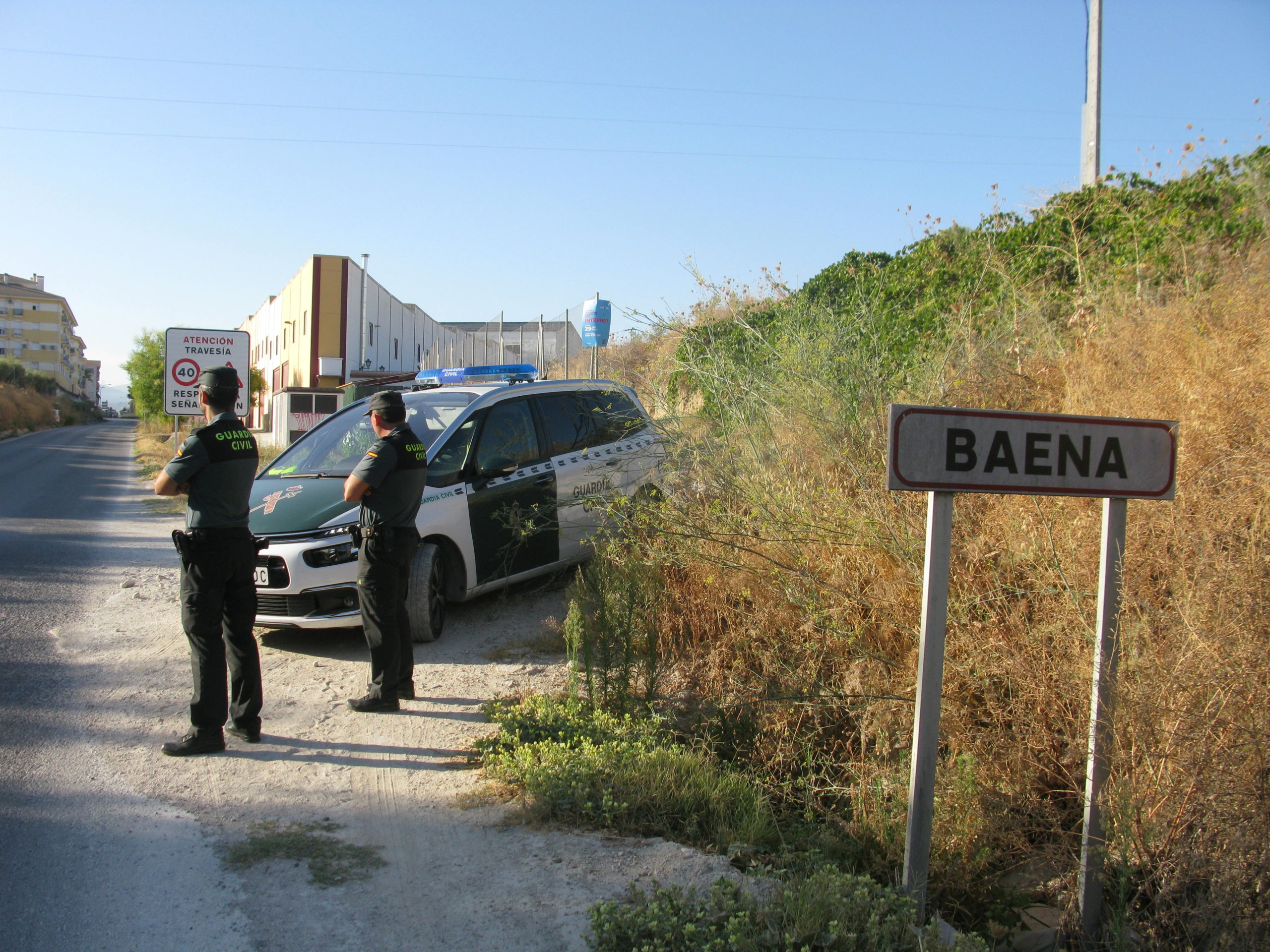 La Guardia Civil y la Policía Local detienen en de Baena a dos vecinos de la localidad como supuestos autores de un delito de robo en grado de tentativa