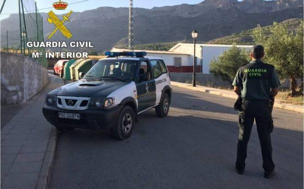 La Guardia Civil detiene a una persona en Baena que se saltó las medidas de restricción de movilidad