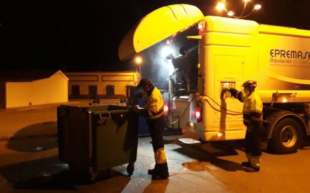 Más de 350 trabajadores de Epremasa garantizan la prestación del servicio de recogida de residuos