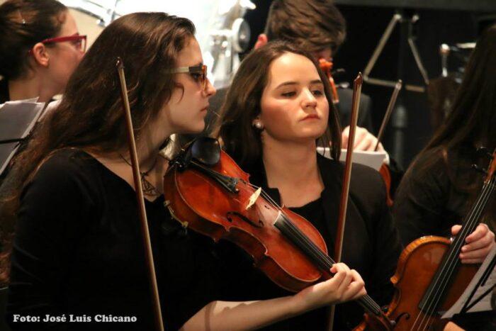Campaña para dar a conocer los instrumentos del conservatorio de Lucena