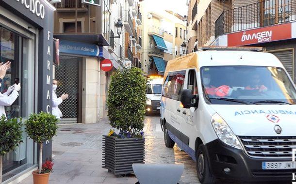 Esta noche pasará por Almedinilla la Caravana de Luz de Transportes Sanitarios Sur de Córdoba
