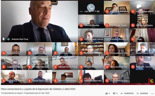 El presidente de la Diputación anuncia un plan para ayudar a los autónomos de la provincia dotado con 947.000 euros