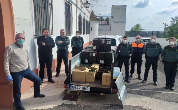 La Guardia Civil detiene en Bujalance a tres personas como supuestas autoras de un robo en la sede de Cáritas de Aguilar de la Frontera