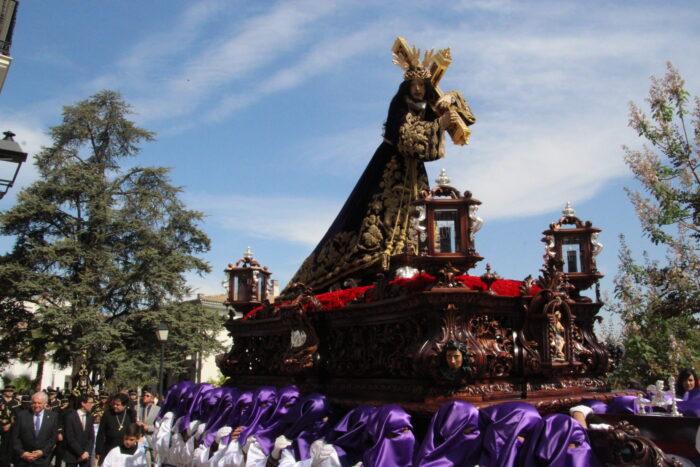 El Nazareno de Almedinilla dará la bendición el Viernes Santo por internet