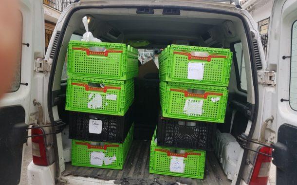 El Ayuntamiento de Almedinilla reparte los alimentos de los programas Reparto de Alimentos Preparados COVID-19 y Refuerzo de Alimentación Infantil SYGA