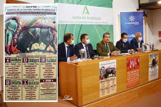 Presentados los carteles de las novilladas de las Escuelas Taurinas Andaluzas, cuya final se celebrará en Almedinilla