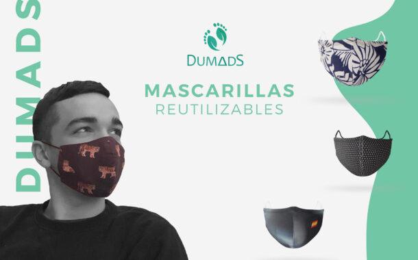 DUMADS apuesta por la fabricación de mascarillas de diseño reutilizables