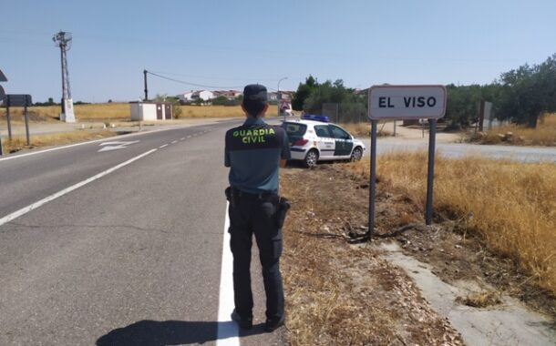 La Guardia Civil denuncia a 23 personas en El Viso por saltarse las medidas del Real Decreto de estado de alarma para celebrar una fiesta