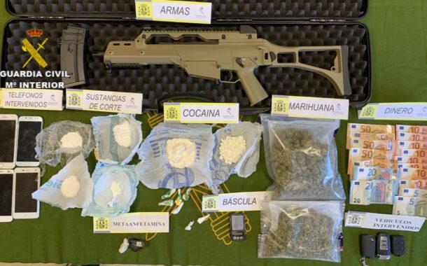 La Guardia Civil culmina la operación que venía desarrollando en Pozoblanco con la desarticulación de un grupo delictivo dedicado al tráfico de drogas