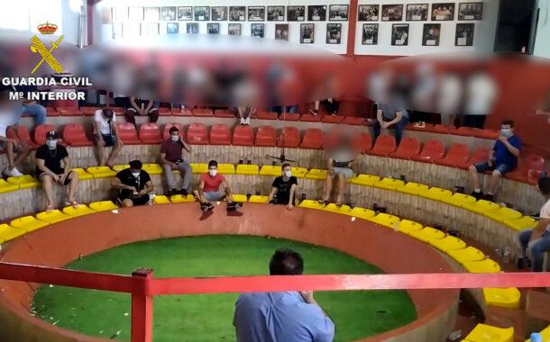 La Guardia Civil desmantela una pelea de gallos en La Carlota