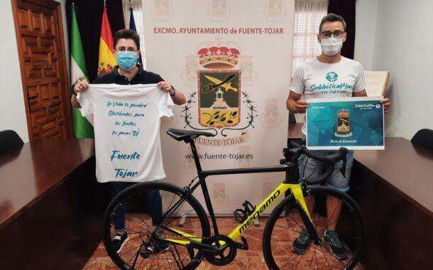 El Ayuntamiento de Fuente- Tójar colabora con el Reto Solidario Subbética Man 226 Full Triatlón