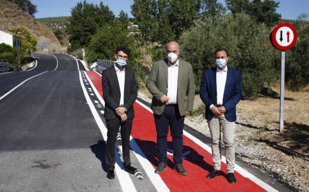 Inaugurada la carretera de Los Ríos-Sileras (CO-8202)