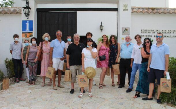 Agentes de viajes de Madrid y Barcelona conocen la oferta turística de Almedinilla