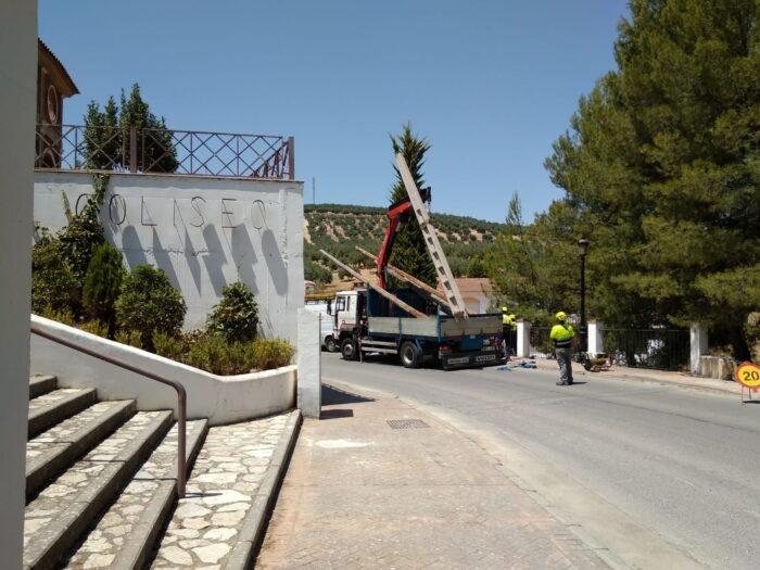 Concluye el soterramiento cableado del paseo Villa Romana y calle Huertas Isla