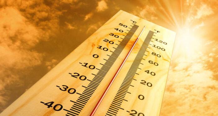 Aviso de altas temperaturas
