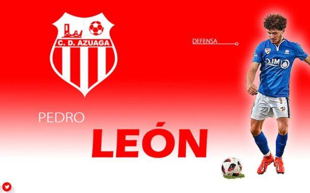 El jugador de fútbol almedinillense, Pedro León Expósito, ficha por el Club Deportivo Azuaga