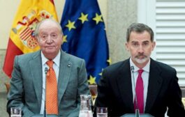 Juan Carlos I notifica su marcha fuera de España a Felipe VI
