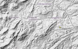Registrado un terremoto de baja intensidad con epicentro en Almedinilla
