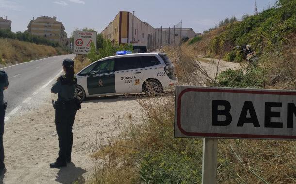 La Guardia Civil detiene a una persona en Baena como supuesta autora de varios delitos, por los que es enviada a prisión