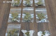 La Guardia Civil desmantela un punto de venta de droga itinerante en un parque público de la localidad de Villaviciosa y detiene a una persona como supuesto autor de un delito de tráfico de drogas