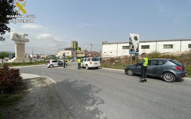La Guardia Civil detiene a dos vecinos de Baena como supuestos autores de un robo con fuerza