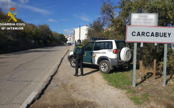 La Guardia Civil auxilia a un ciclista que se había perdido en la Sierra de la Subbética