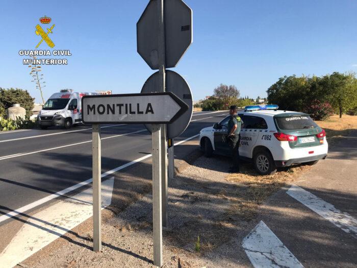 La Guardia Civil detiene a dos vecinos de Montilla como supuestos autores de un robo con fuerza y un hurto