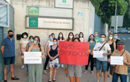 Alumnado de la Escuela Oficial de Idiomas (EOI) de Priego se quejan a la Consejería de Educación por no certificar sus estudios