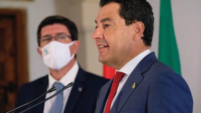 La Junta de Andalucía multará hasta con 600.000 € a quienes no respeten las medidas contra el covid-19