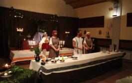 Los placeres de la mesa Romana celebrados a través de un Show Cooking con aforo limitado