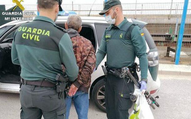 La Guardia Civil detiene en Baena a tres personas como supuestos autores de los delitos de tenencia ilícita de armas y lesiones con arma de fuego