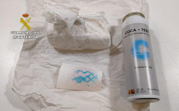 La Guardia Civil interviene 100 gramos de cocaína en Montoro y detiene a una mujer como supuesta autora de un delito de tráfico de drogas