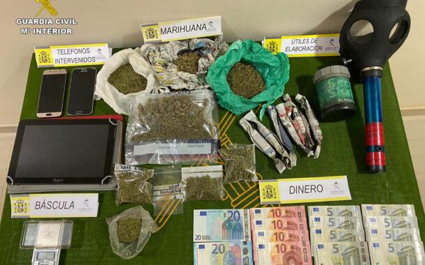La Guardia Civil culmina la operación que venía desarrollando en Pozoblanco con la desarticulación de otro punto de venta de drogas