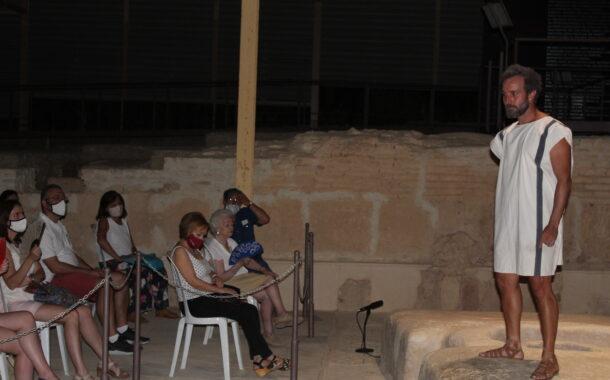 Marco Aurelio, en su versión de filósofo, visita la Villa Romana de Almedinilla
