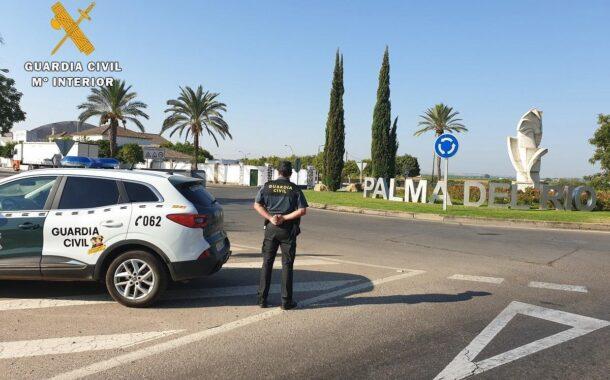 La Guardia Civil detiene en Palma del Río al supuesto autor de un robo con intimidación con un arma blanca en un establecimiento de la localidad