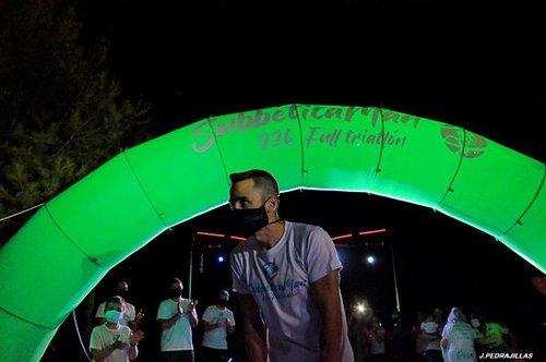 El prieguense Jorge Moreno culmina con éxito el reto solidario Subbética Man