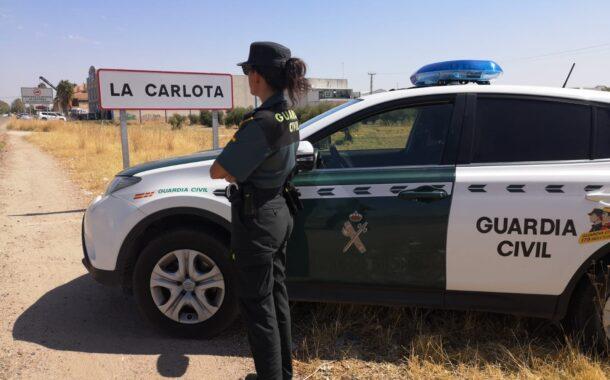 La Guardia Civil detiene a cuatro personas como supuestos autores de un delito de robo con violencia e intimidación ocurrido en La Carlota