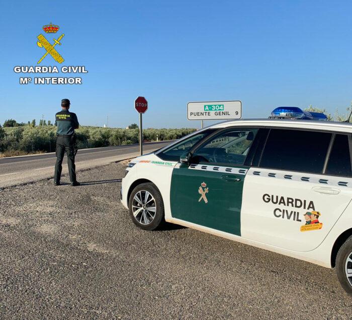La Guardia Civil detiene en Puente Genil a un vecino como supuesto autor de varios delitos relacionados con el tráfico de drogas