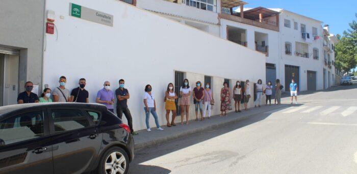 La Junta realiza test de control Covid-19 a los profesionales de la Educación de Almedinilla