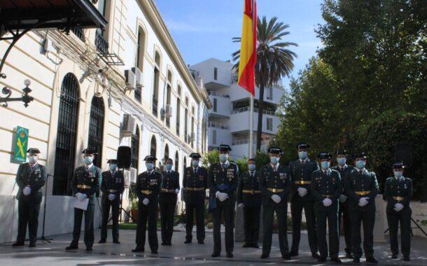 La Comandancia de Córdoba en un acto simbólico de régimen interior celebra la festividad de su Patrona