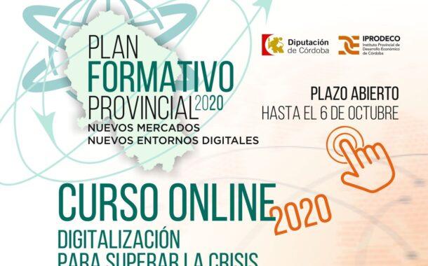 Iprodeco pone en marcha el curso 'Digitalización para superar la crisis' en el que participan empresarios de sectores diversos