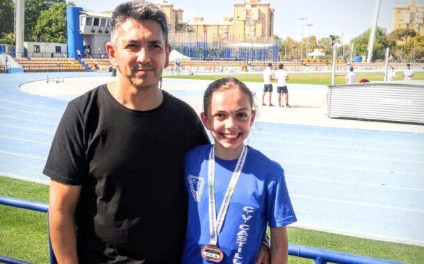La joven atleta Mar Calmaestra Ortiz consigue el décimo tercer puesto en el V Campeonato de España Sub14 desarrollado en el estadio Villahermoso de Madrid