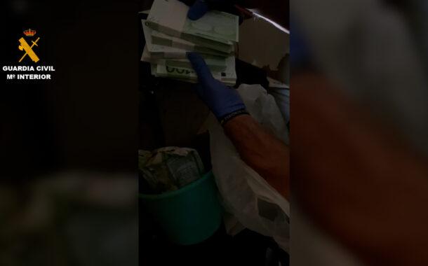 La Guardia Civil detiene a un vecino de Peñarroya-Pueblonuevo como supuesto autor de un delito de robo de 240.000 € del interior de una vivienda