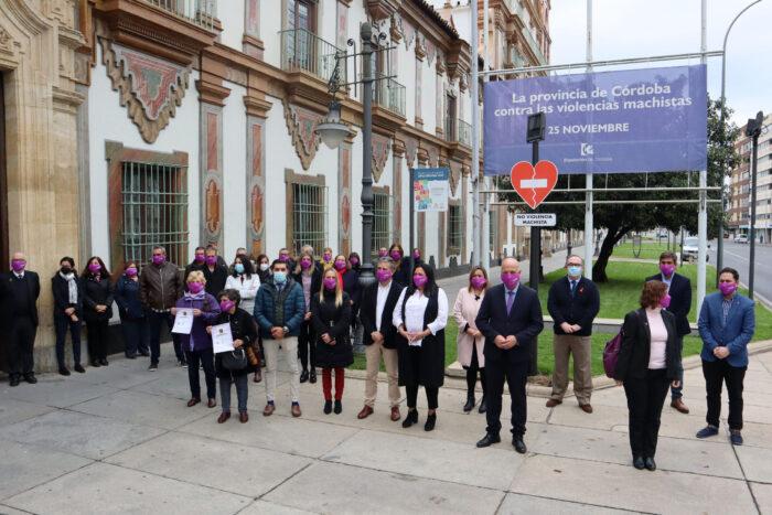 La Diputación de Córdoba condena, un año más, la violencia ejercida contra las mujeres